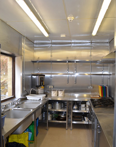 Tom Bell Hostel Kitchen