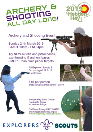 Hebden Hey | Scout Centre - Archery & Shooting Competition
