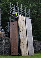 24' Climbing Wall - Click for bigger view