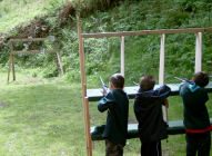 Scout air rifle session